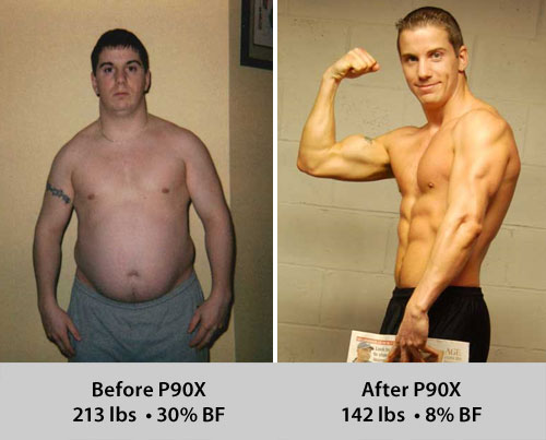 P90X Transformation: Scott Shoup
