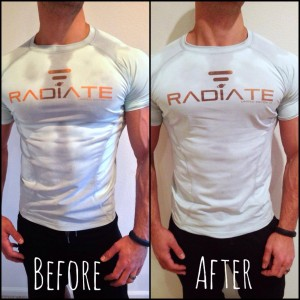 radiate athletic shirt