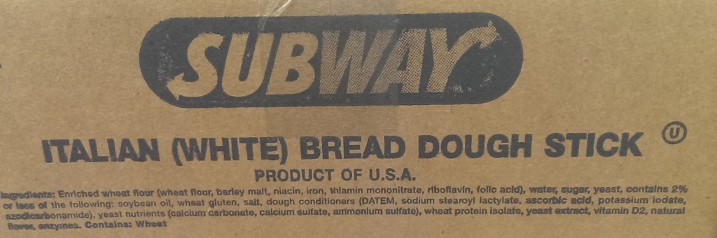 old subway bread